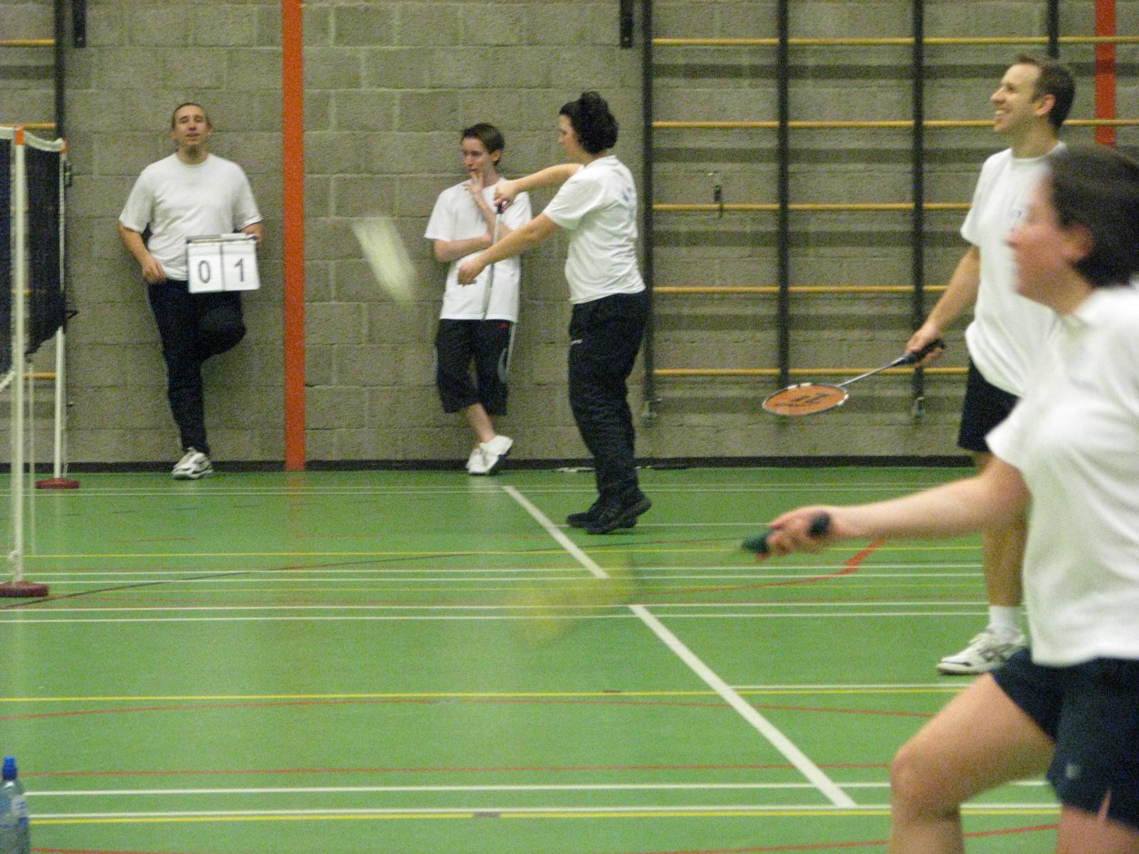 Competitie foto's – Badminton Club Nuenen Badminton Nederland Competitie